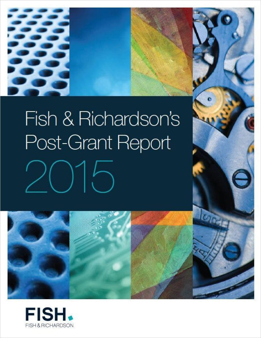Fish Post-Grant Report 2015